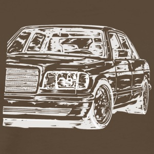 w126 dirty - Männer Premium T-Shirt
