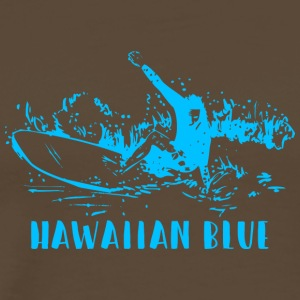 Hawaiian Blue Surfer - T-shirt Premium Homme