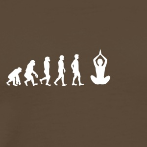 EVOLUTION yoga - Premium-T-shirt herr
