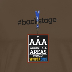 backstage Ticket - Männer Premium T-Shirt
