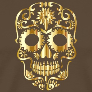 Skull of gold - Men's Premium T-Shirt