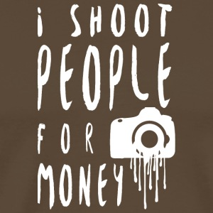 I shoot people! - Men's Premium T-Shirt