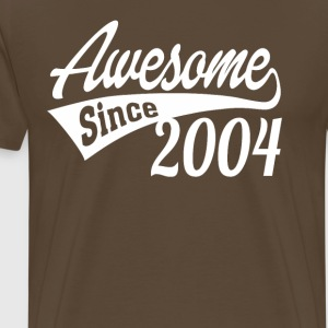 Awesome Since 2004 - Men's Premium T-Shirt