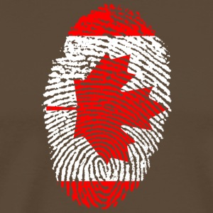 Fingerprint - Canada - Men's Premium T-Shirt