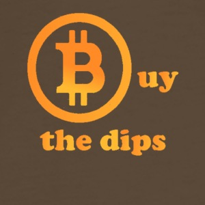 Bitcoin - buy the dips - Men's Premium T-Shirt