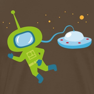 The little astronaut - Men's Premium T-Shirt