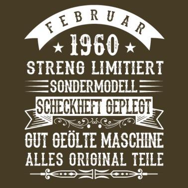 Sjov 60 års fødselsdagskjorte og gave Premium T shirt mænd