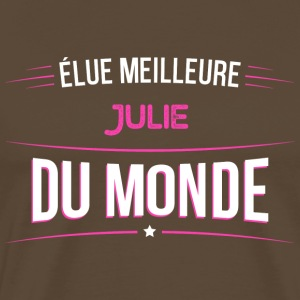 Julie t shirt drole pour Julie