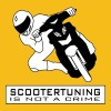 Scootertuning is not a crime HQ - Männer Premium T-Shirt