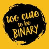 Too cute to be binary - Men's Premium T-Shirt