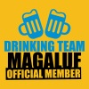 Drinking Team Magaluf - Premium T-skjorte for menn