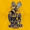 BearAssCheek-Little prick - Buzz Off! - Men's Premium T-Shirt