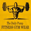 The Daily Pump Fitness Gym Wear - Men's Premium T-Shirt
