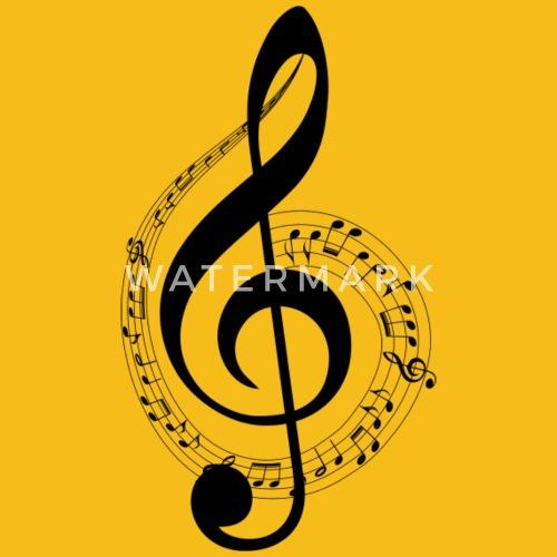 Boden und musikalisches Personal Schlüssel von Cherichou | Spreadshirt