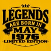 Legends are born in may 1976 - Men's Premium T-Shirt
