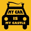 My car is my castle - Men's Premium T-Shirt