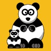 Mama Panda and Baby Panda - Men's Premium T-Shirt