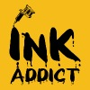 Tatouage / Tattoo: Ink Addict - T-shirt Premium Homme