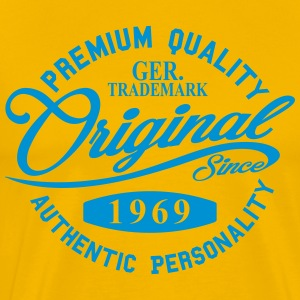 Original Since 1969 Handwriting Premium Quality - Men's Premium T-Shirt