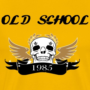 OLD SCHOOL l1985 - Männer Premium T-Shirt