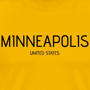 Minneapolis - Männer Premium T-Shirt