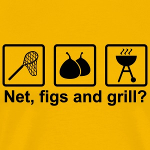 Net, figs and grill - Männer Premium T-Shirt
