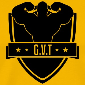 GVT German Volume Training (vektorgrafik) - Premium-T-shirt herr