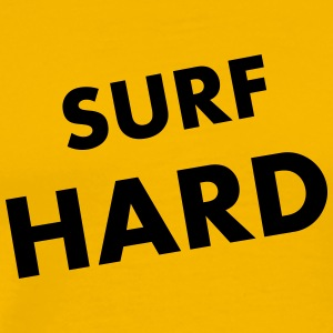 Surf Hard - Premium T-skjorte for menn
