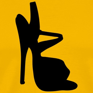 Vector highheels Silhouette - T-shirt Premium Homme