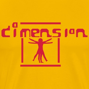Dimension - Männer Premium T-Shirt
