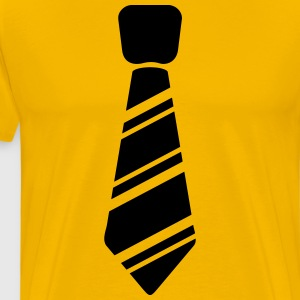 tie - Men's Premium T-Shirt