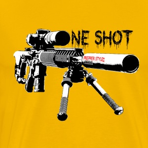 Prepper One Shot New Style - Männer Premium T-Shirt