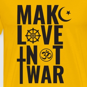 Make Love Not War - T-shirt Premium Homme