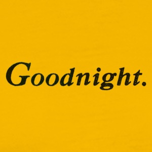 Good Night PNG Transparent Image - Männer Premium T-Shirt