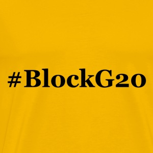 BlockG20 - Premium T-skjorte for menn