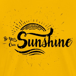 Be your own Sunshine - Männer Premium T-Shirt