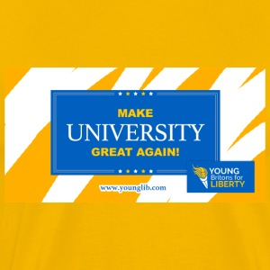 MUGA: Make University Great Again - Men's Premium T-Shirt