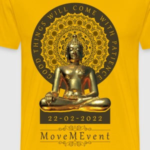 Buddha Patience - Men's Premium T-Shirt