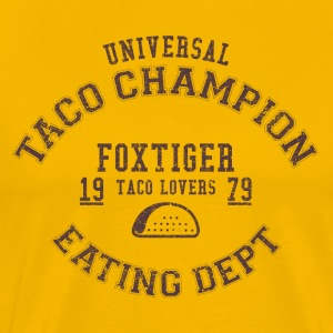 TACO CHAMPION - Premium T-skjorte for menn