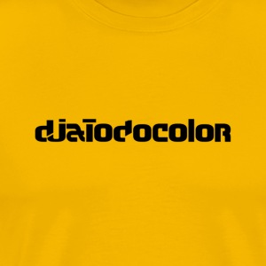 DJATODOCOLOR BLACK LOGO - Men's Premium T-Shirt