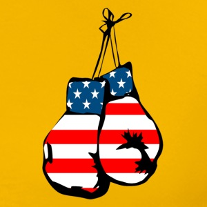 USA boxing gloves - Men's Premium T-Shirt