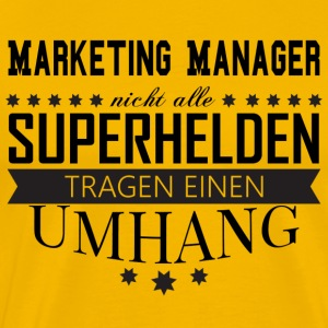 Marketing Manager - Männer Premium T-Shirt
