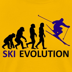 ++ ++ Ski Evolution - Mannen Premium T-shirt
