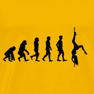 Evolution Poledance - Männer Premium T-Shirt