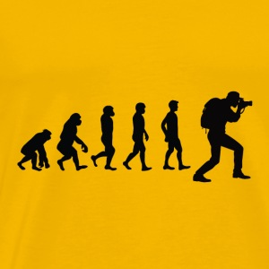 evolution Photographer - Premium-T-shirt herr