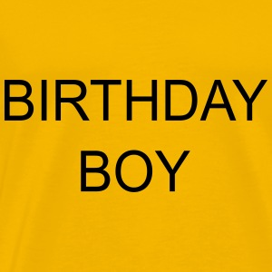 birthdayboy - Herre premium T-shirt