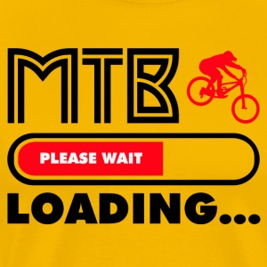 Get ready for MTB - Männer Premium T-Shirt