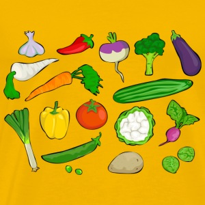 vegetables - Men's Premium T-Shirt
