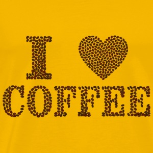 i love Coffee - Männer Premium T-Shirt