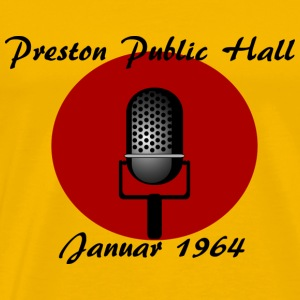 1964 Preston Public Hall - Herre premium T-shirt